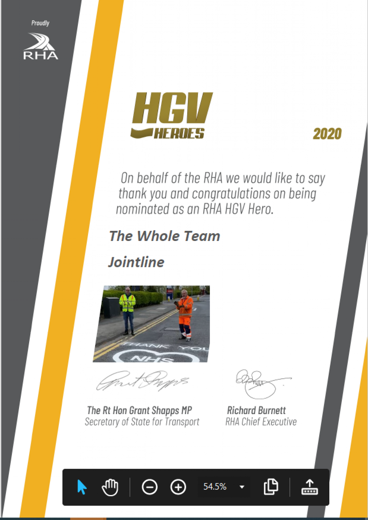 Featured image for HGV Heroes Recognition